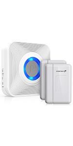 Fosmon 51007HOM Wireless Door Sensor Chime
