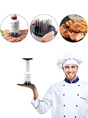 chef kitchen injector tools