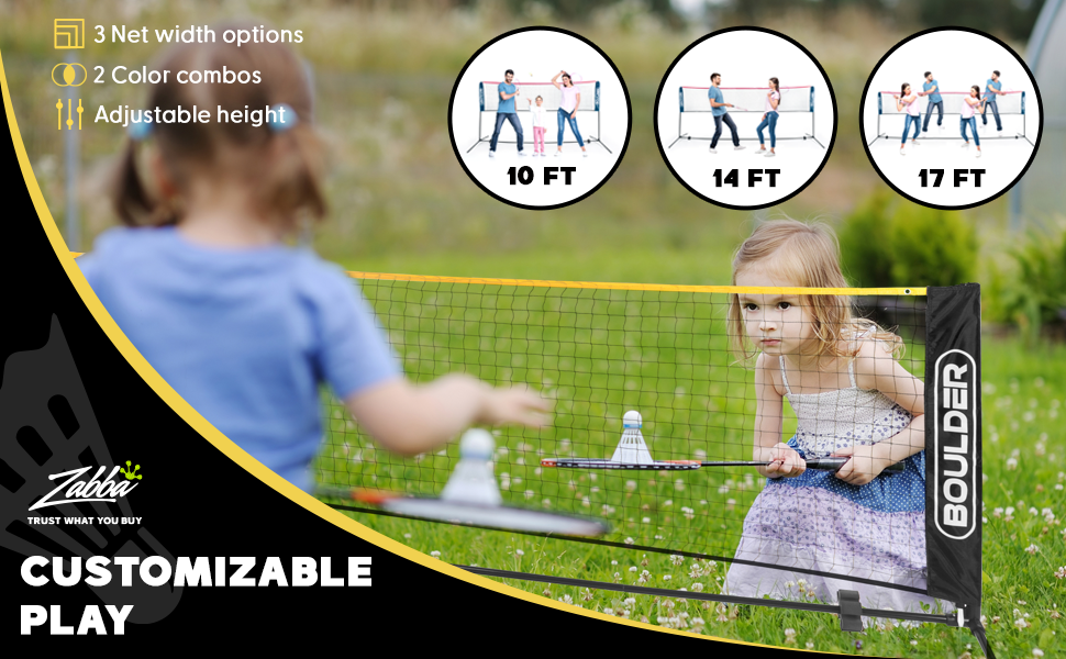 badminton portable sports nets