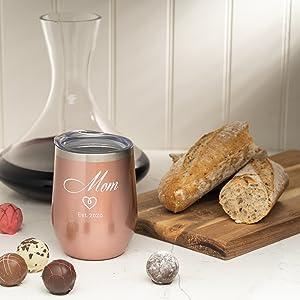 cualquier tipo de bebida, disfrute de su vino sin temor a los vasos rotos sudará como vasos de menor