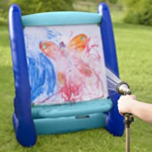 Easel Giant Inflatable Indoor and Outdoor Paint Paint kid child art outside toy