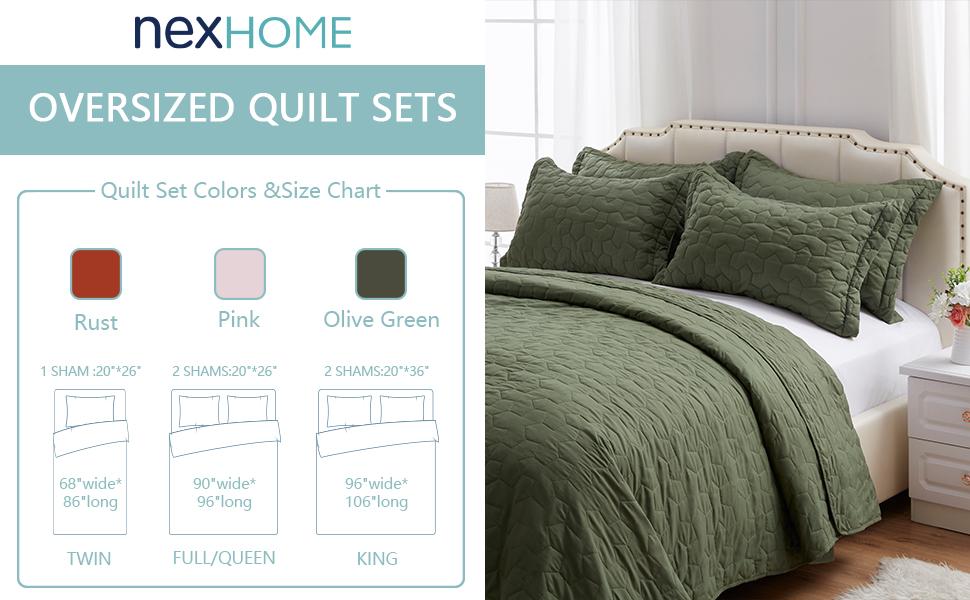 oliver green quilts sets