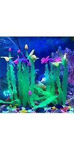 glo aquarium decorations