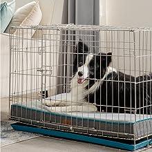 Bedsure Medium Memory Foam Dog Bed5