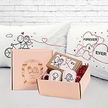 boldloft wedding gifts bride groom couples mugs basket set engagement registry newlywed just married