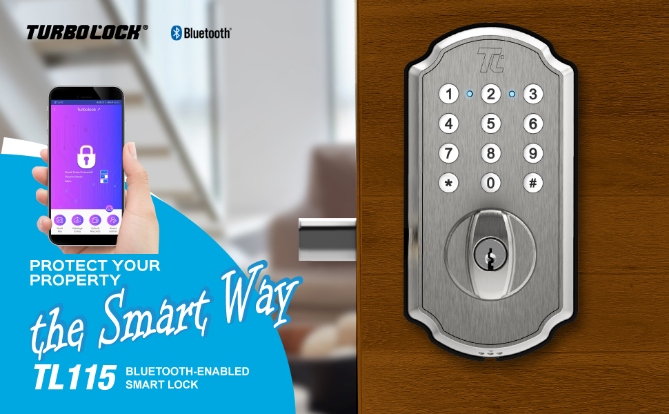 TURBOLOCK TL115 App-Enabled Smartbolt — The Smarter Security Solution