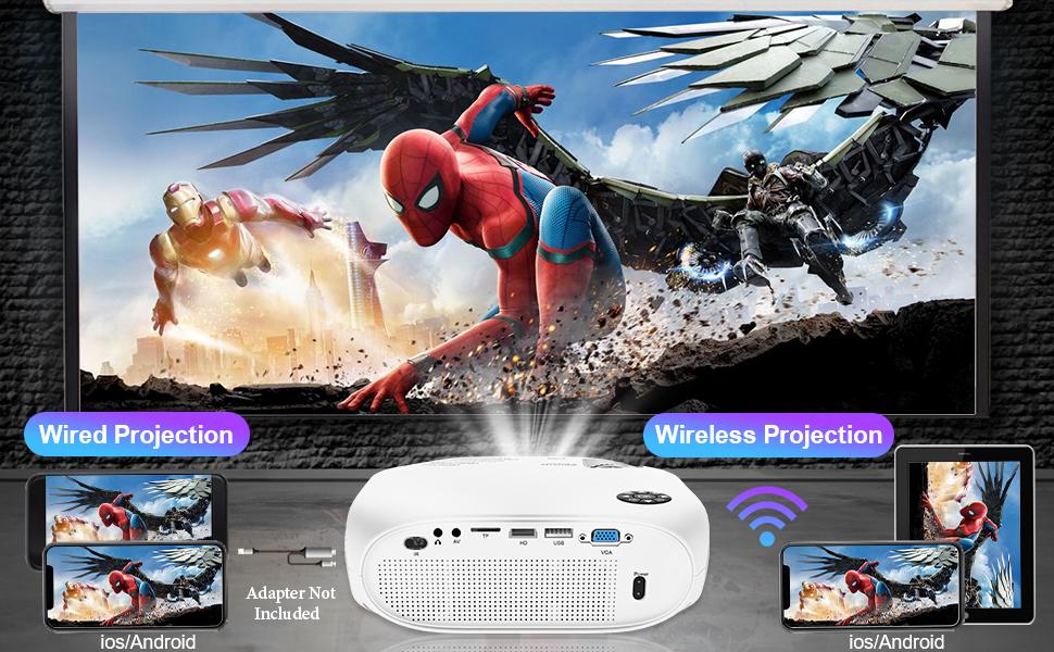 Wireless mini projector