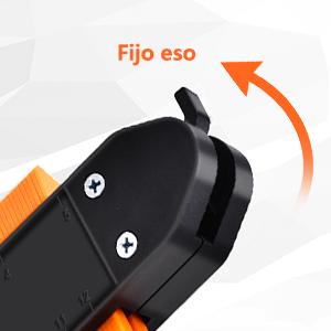 Medidor de Contorno OneSight Actualizado con mecanismo de Bloqueo Duplicador de Contorno de Pl/ástico de 10 Pulgada Medidor Regla de Medida Plantilla Instant/ánea para Formas Curvas y Extra/ñas