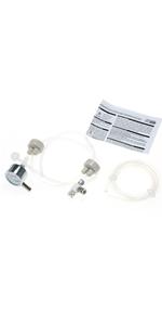 DIY Kit de sistema de CO2 generador con presión