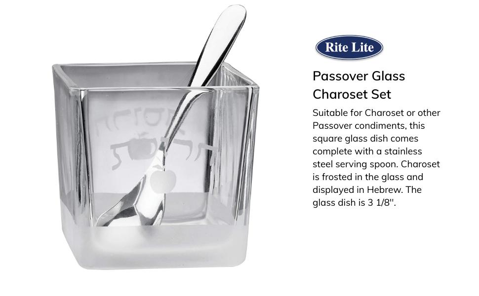 glass charoset