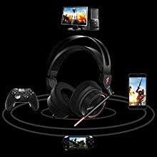 Surround Sound Stereo, PS4 Headset with Mic & LED Light