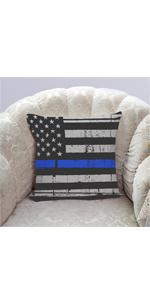 flag cushion cover