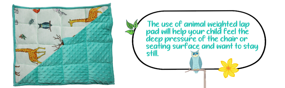 Weighted Lap Pad for Kids
