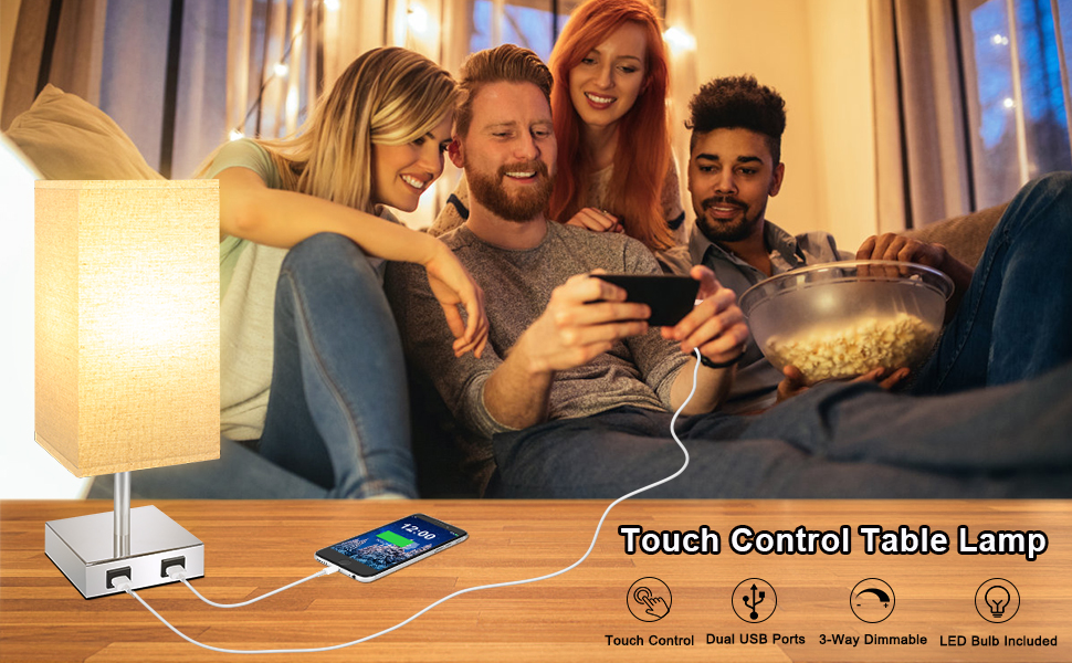 usb touch lamp