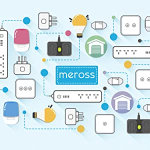 Light Switches, Meross Smart 2 Way Light Switch Compatible with Alexa and  Google Home Easy in-Wall Installation