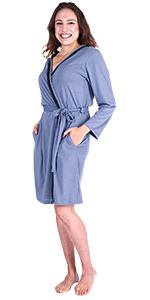 bamboo bathrobe, best gift for mom, Ekouaer, dressing gown, gys