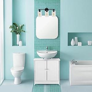 bathroom vanity light fixtures black
