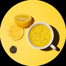 lemon w wedges