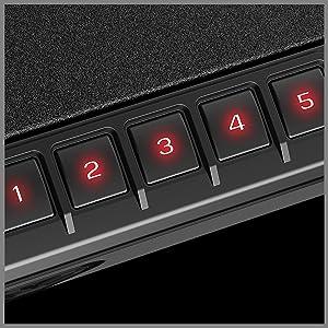 Backlit Numeric Keypad 5 Digit Combo