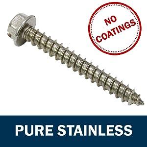 Stainless Steel Hex Washer Head Screws