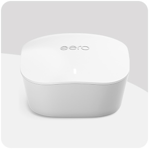EERO - Mesh WiFi router - Corner wall mounted bracket for better signal and a clutter-free home