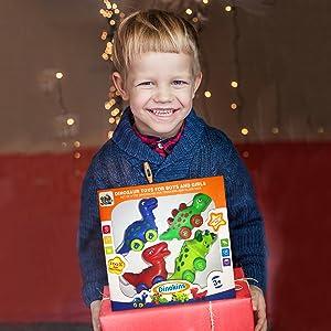 dinosaur toys - birthday gift for 3 year old boys - christmas gift for boys age 3 - xmas boys 3 yrs