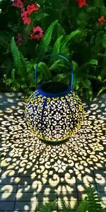 garden solar lantern outdoor hanging