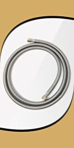 Dishwasher 6 foot hose stainless steel braided