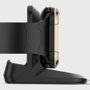 spigen Soporte para Apple Watch, S350 diseñado para Apple Watch con el Modo Nightstand Compatible con Apple Watch Serie 4/3/2/1 - Negro