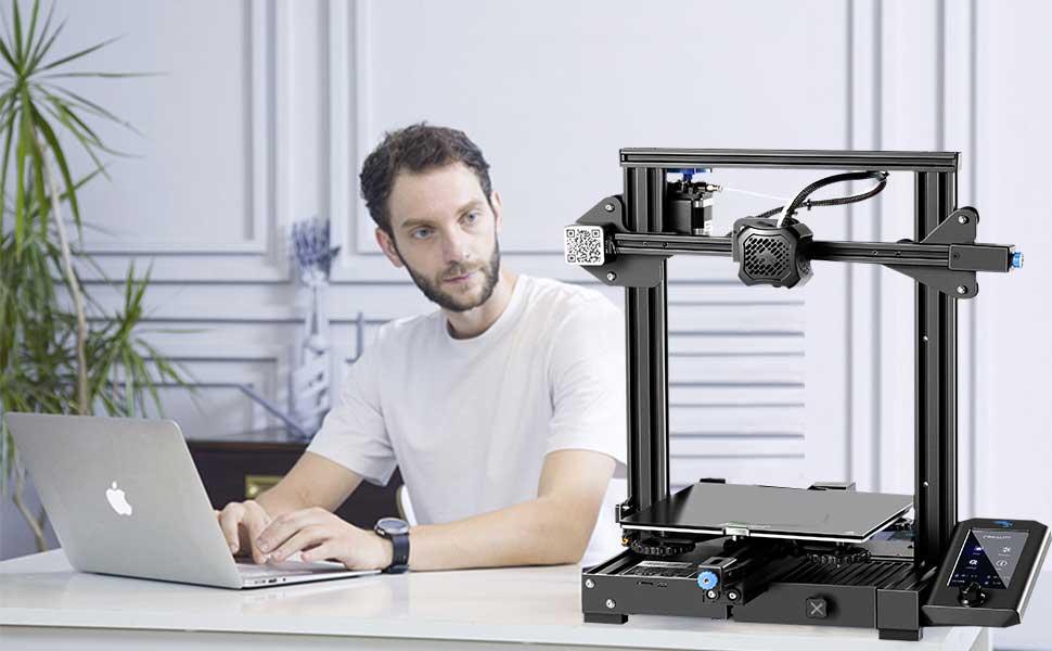 Ender3 V2 3D printer