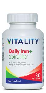Daily Iron + Spirulina