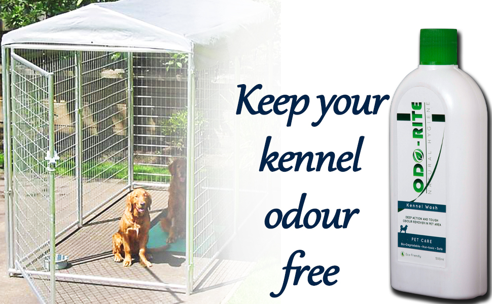 Smell free kennel