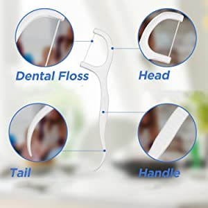 dental floss teeth cleaning
