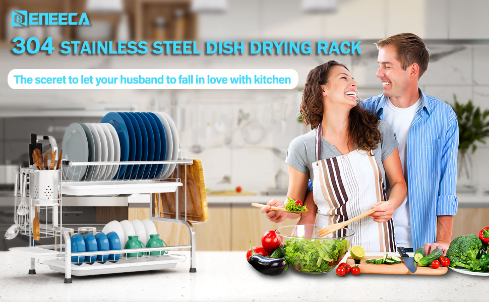 304 stainless steel dish drying rack