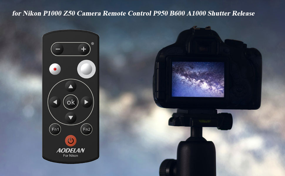 nikon p1000 z50 camera remote control b600 a1000 shutter release