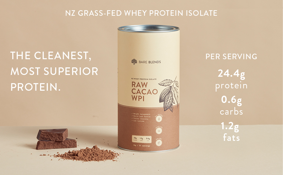 raw cacao whey protein isolate, WPI, whey, chocolate wpi, whey protein isolate
