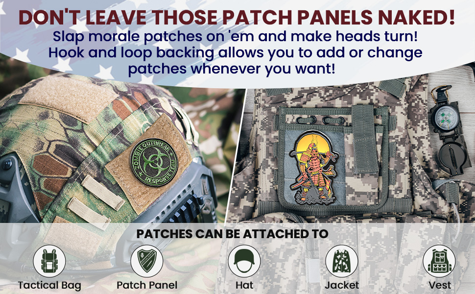 tactical mora patch with velcro backing