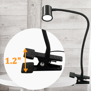 reading light with clip