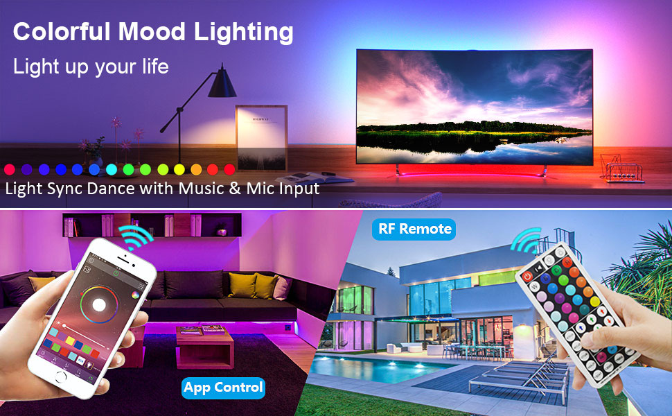 led strip lights RGB Color changing
