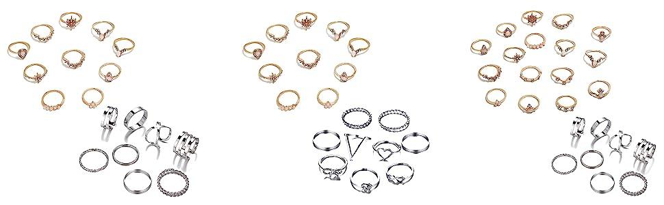 mix ring set