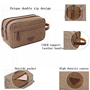 Classic Fashion Design Toiletry Bag