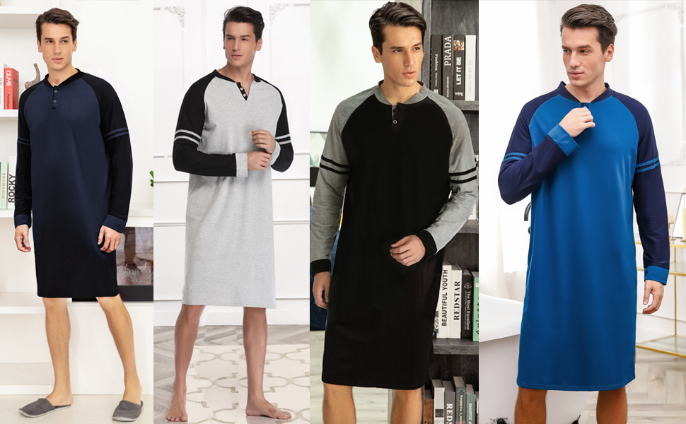 Mens nightgown