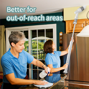 out of reach place cleaning