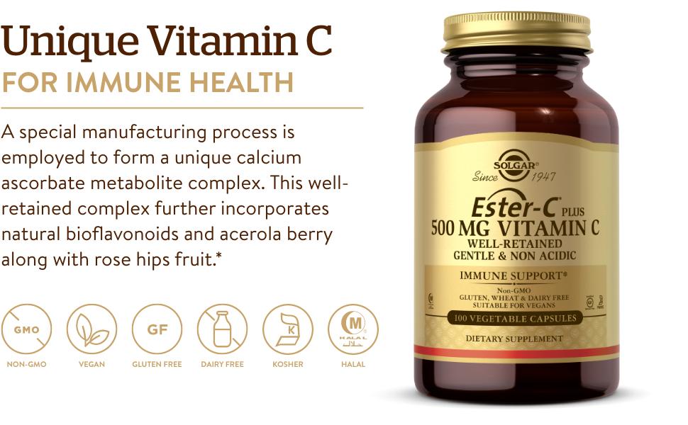 Gentle & Non Acidic - Antioxidant & Immune Support