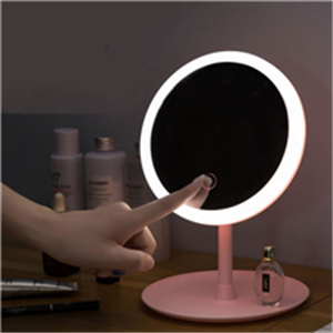 Rechargeable makeup mirror