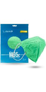 M95c Kids Face Mask Mint Green