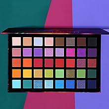 blue pink eyeshadow palette