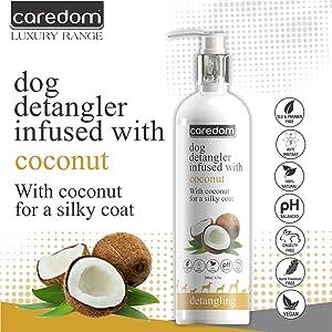 Caredom Luxury Coconut Detangling Spray
