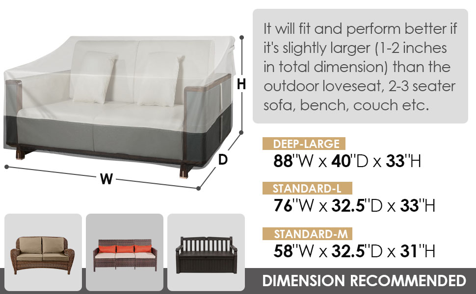 outdoor sofa covers