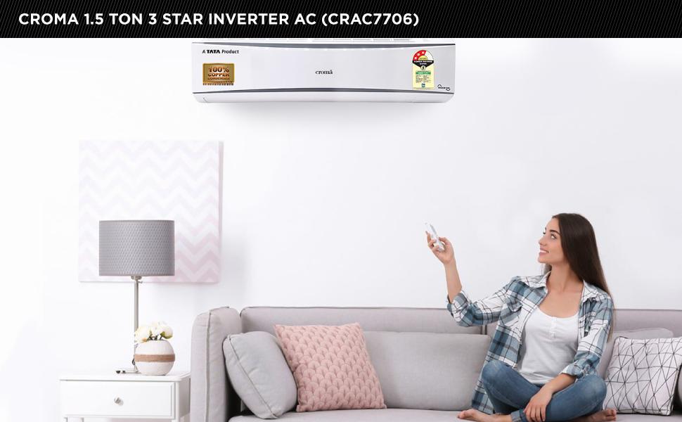 CROMA INV/AC 1.5T CRAC7706 3S